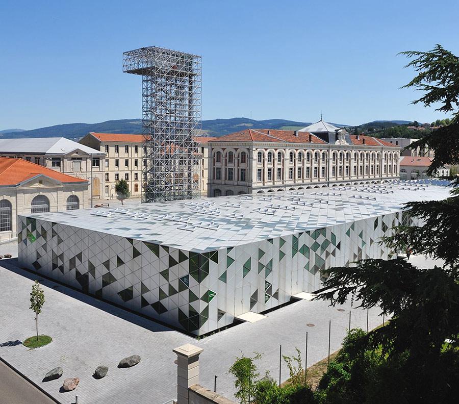 Le Centre des savoirs et la grand usine créative - Saint-Etienne 42
